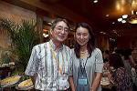 大浦隆陽 先生(左)