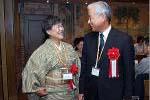 武藤富美 先生(左)