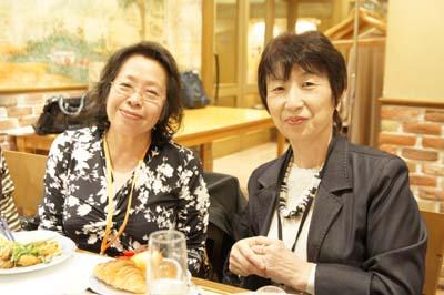 倉本優子先生(左)