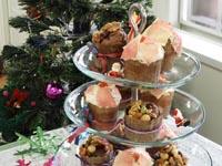 クリスマスのカップケーキタワーをつくろう!