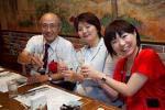 坂井克己 先生(左)