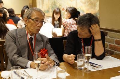 瀬古秀文先生、武藤冨美先生