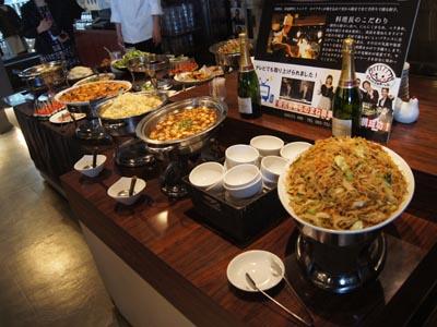 たくさんの美味しい料理は喜んでいただきました